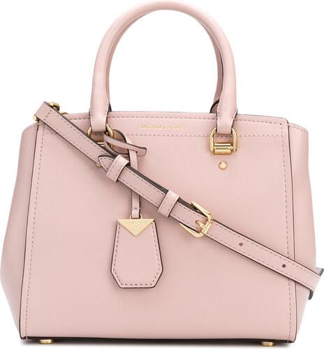 Michael Michael Kors Benning medium satchel - Pink - Glami.cz b33da9ceebf