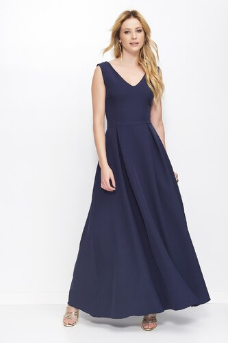 MAKADAMIA Dámské šaty MyLady modré - Glami.cz b762c730b6f
