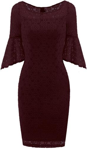 Dámské krajkové šaty Lene červené - červená 520306f482