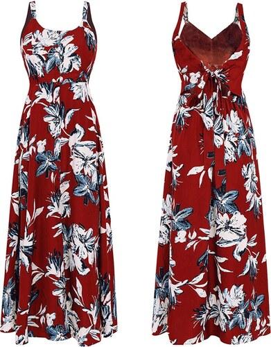 b7367afae233 Dámské letní šaty Hilien červené - červená - Glami.cz