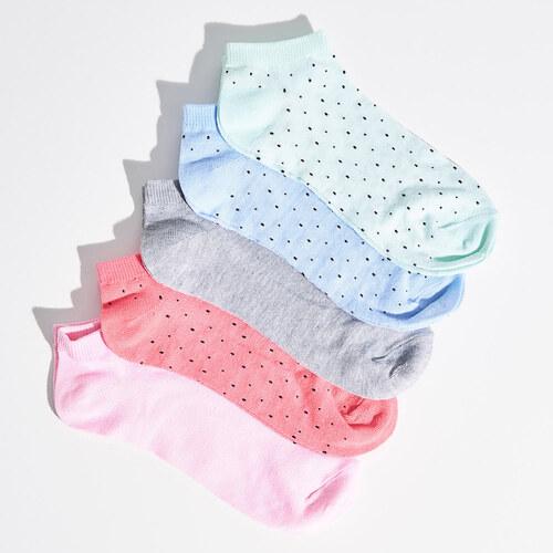 838e85510f5 Sinsay - Sada 5 párů neviditelných ponožek - Vícebarevn