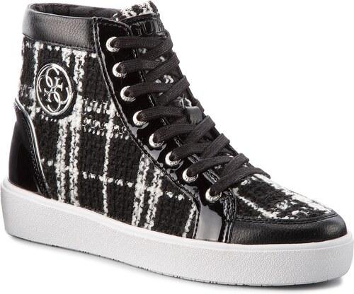 e1e79e391d03 Sneakersy GUESS - FLACE3 FAB12 WHITBL - Glami.sk