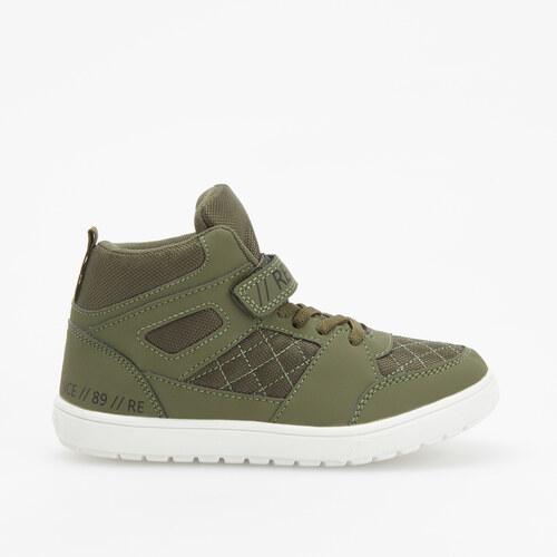 b62ce43479d6 Reserved - Sneakers topánky nad členok - Khaki - Glami.sk