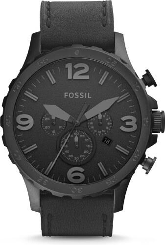 Fossil Nate Hodinky Černá - Glami.cz 91a3f0b836
