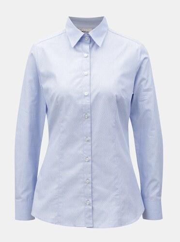 6e0b1d9762a3 Svetlomodrá dámska bodkovaná košeľa VAVI - Glami.sk