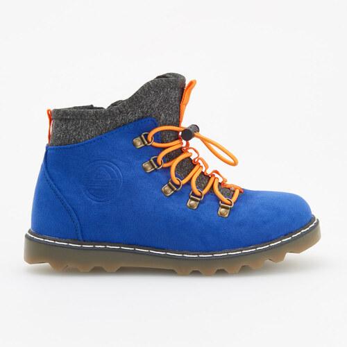 Reserved - Mierne zateplené členkové topánky - Modrá - Glami.sk 96f0188b480