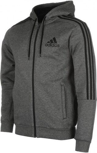Adidas - 3 Stripes Zip Through Hoody Mens - Glami.hu 6550ad64e1