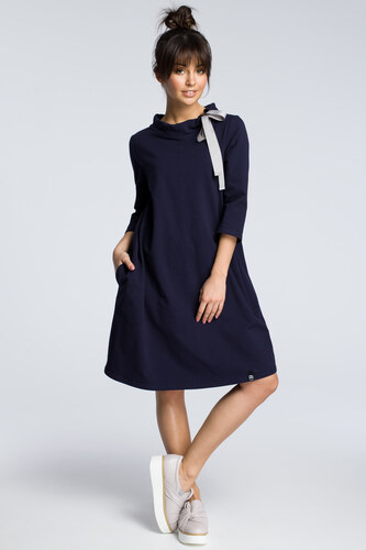 331181b6a036 BeWear Dámske šaty b070 navy blue - Glami.sk