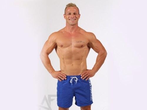 AF fitness Šortkové plavky Aesthetic fitness (modro-bílé) - Glami.cz 1f34356be0
