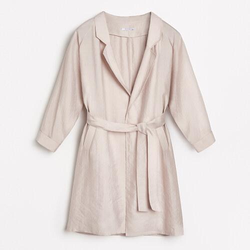 Reserved - Lyocell kabát - Bézs - Glami.hu d2f717a902
