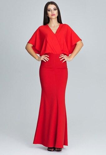 FIGL Elegantné červené dlhé šaty M577 - Glami.sk 68f023bba19