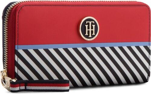 388ced336e Veľká Peňaženka Dámska TOMMY HILFIGER - Poppy Lrg Wallet Multi Stripe  AW0AW05321 902