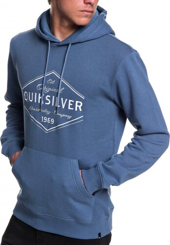 Mikina Quiksilver Nowhere North Hood bijou blue - Glami.cz 1aabeda45bb