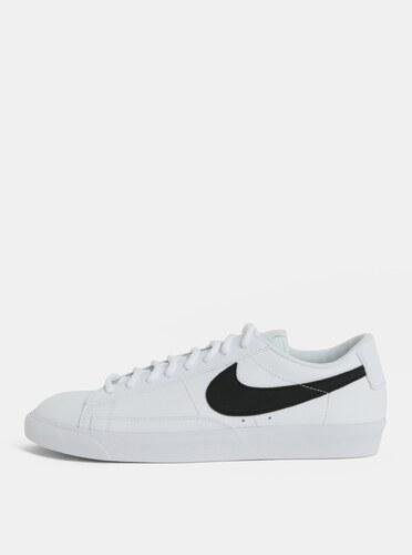 99b04c7e1989 Biele pánske kožené tenisky Nike Blazer Low - Glami.sk