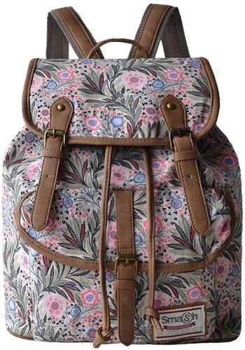 Beyou Batoh Vintage s přezkami Floral barevný - Glami.cz ec89e46123