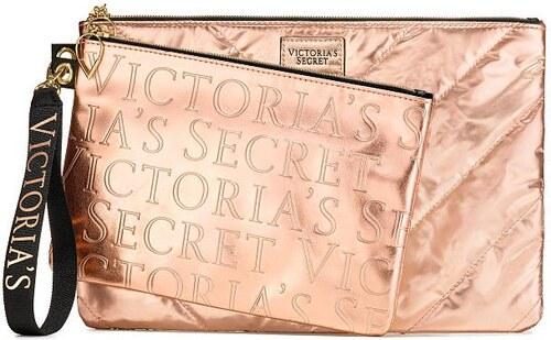 9964eba4cd Kabelka Victoria s Secret Rose Gold metalická - Glami.cz