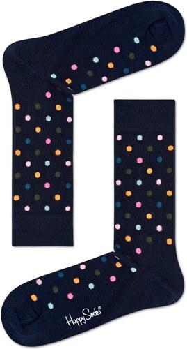 Čierne ponožky Happy Socks s farebnými bodkami - Glami.sk 398554e116