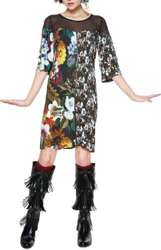 Desigual barevné šaty Morgana - XS - Glami.cz 3fcdfe71be