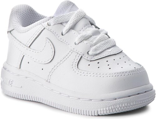 Topánky NIKE - Force 1 (TD) 314194 117 White White White - Glami.sk faf8cfd56d