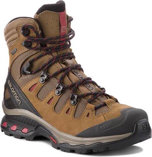 -36% Trekingová obuv SALOMON - Quest 4D 3 Gtx W GORE-TEX 402458 20 G0 Teak 11d358d7353