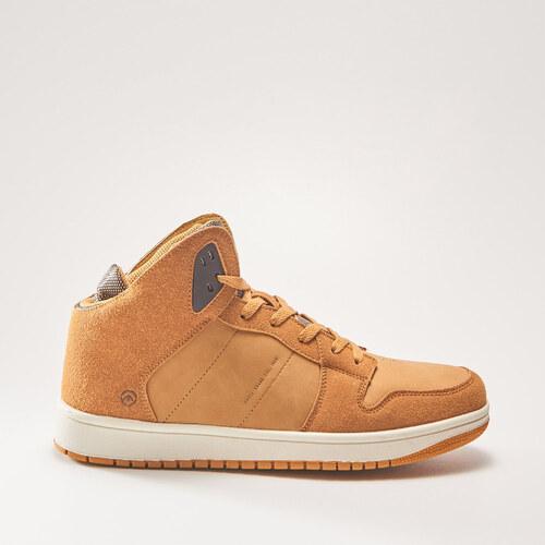 5f8a15edac1f House - Sneakers topánky nad členok - Hnědá - Glami.sk