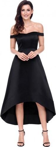 f479737a47e0 Krátke bardot spoločenské šaty - čierne LC61850-2 - Glami.sk