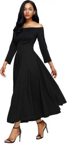 b40b75badc83 Jersey čierna sukňa s vreckami a s vysokým pásom LC65053-2 - Glami.sk