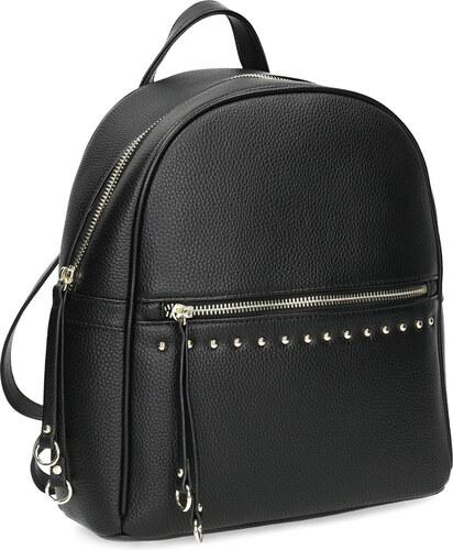 733f4985df6 Baťa Čierny dámsky batoh s kovovými cvokmi - Glami.sk