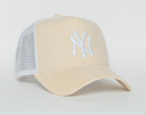 4e7cc8716a6 Dámská Kšiltovka New Era Micro Cord New York Yankees 9FORTY A-FRAME TRUCKER  Optic White