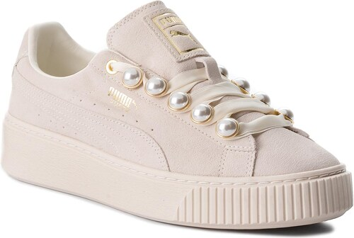 Sportcipő PUMA - Suede Platform Bling Wn s 366688 02 Whisper White Whisper  White bb0a72d7230
