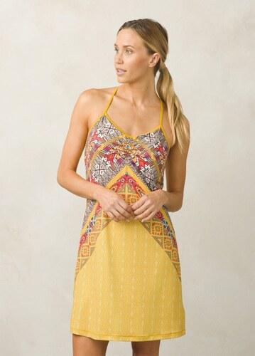 Šaty dámske PRANA Elixir Dress marigold marrakesh - Glami.sk 6cf16bacb3d