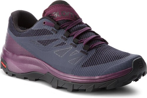Trekingová obuv SALOMON - Outline Gtx W GORE-TEX 406196 22 V0  Graphite Potent 7e12e75586