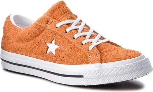 Teniszcipő CONVERSE - One Star Ox 261787C Bold Mandarin White White ... 40f662346e
