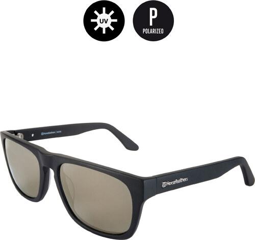 Horsefeathers slnečné okuliare Keaton - matt black mirror gold ... c4ce1ec91c1
