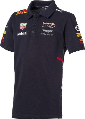 Puma Red Bull Racing gyerek galléros póló F1 Team 2017 - Glami.hu db94f93d0c