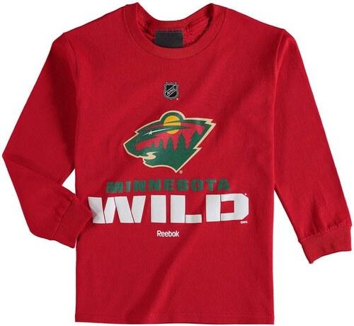 515fa880f2 Reebok Minnesota Wild gyerek hosszú ujjú póló NHL Clean Cut - Glami.hu