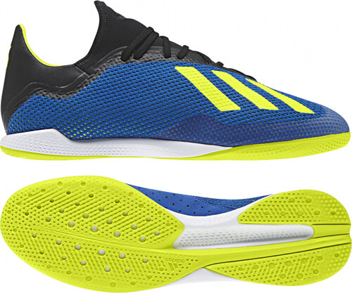 -50% Pánské sálové kopačky adidas Performance X TANGO 18.3 IN (Žlutá    Černá) 007c811ef9