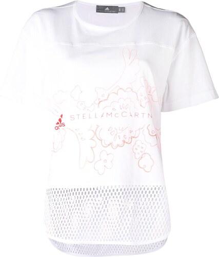 83e6b76b80a0 Adidas By Stella Mccartney short sleeve graphic T-shirt - White ...