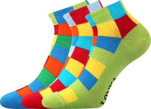 8232111602c Lonka Kotníkové ponožky Becube MIX 3 páry - Glami.cz