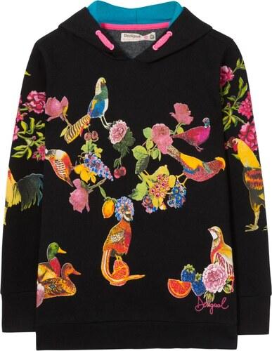 660850e03e Desigual Borges pulóver színes motívumokkal - Glami.hu