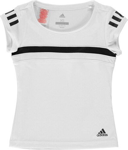2599c6f7449e Tričko s krátkým rukávem adidas Club T Shirt Junior Girls - Glami.cz