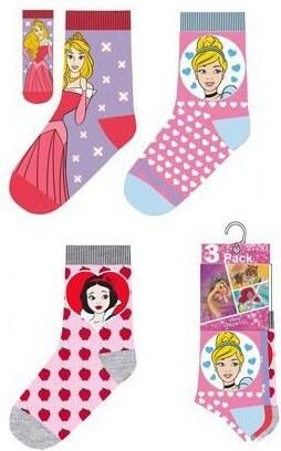 Disney Hercegnők gyerek zokni 3 db-os 27 30 - Glami.hu 9641ab2de2