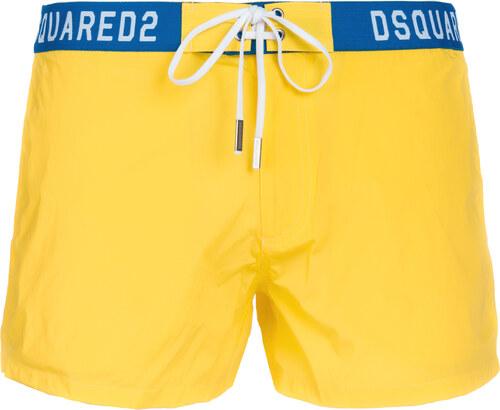 DSQUARED2 Plavky Žltá - Glami.sk f0780785d1