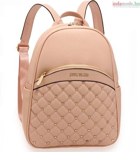 Anna Grace Rózsaszín Női elegáns hátizsák 1fabeea022