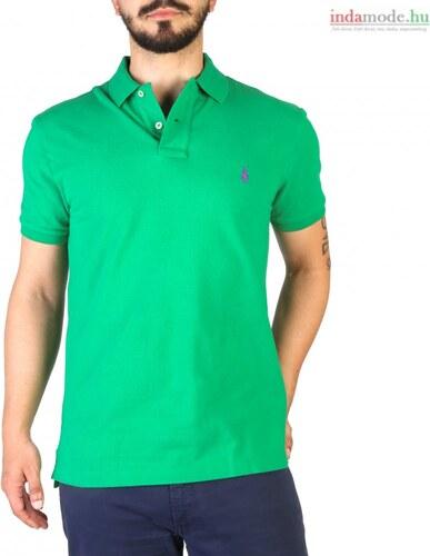 b9558155d4 Ralph Lauren férfi zöld galléros póló - Glami.hu