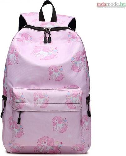 da60a9eee45b Miss Lulu Nagy iskolatáska hátizsák Unikornis - Glami.hu
