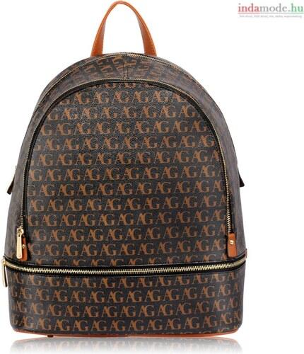 Anna Grace AG00533 - Fekete hátizsák iskolai táska - Glami.hu 88f673bf80