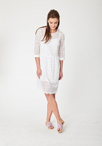 784bc5b3a70 Thought Bílé krajkované šaty - Glami.cz