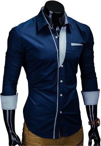 Pánská košile Behype Slim Fit model BH-306 - Glami.cz d01b937efd