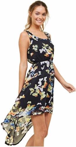 1bbc85f8b8d7 NEW LOOK Motýlikové šifónové midi šaty - Glami.sk